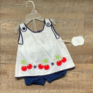 Other - Adorable 2 piece cherry outfit